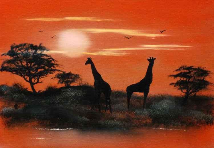 Serengeti Sunset (September Price Cut)