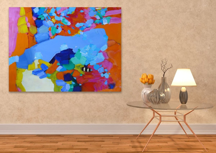 """The Road Home 40 x 30""""/102 x 76 cm - Image 0"""