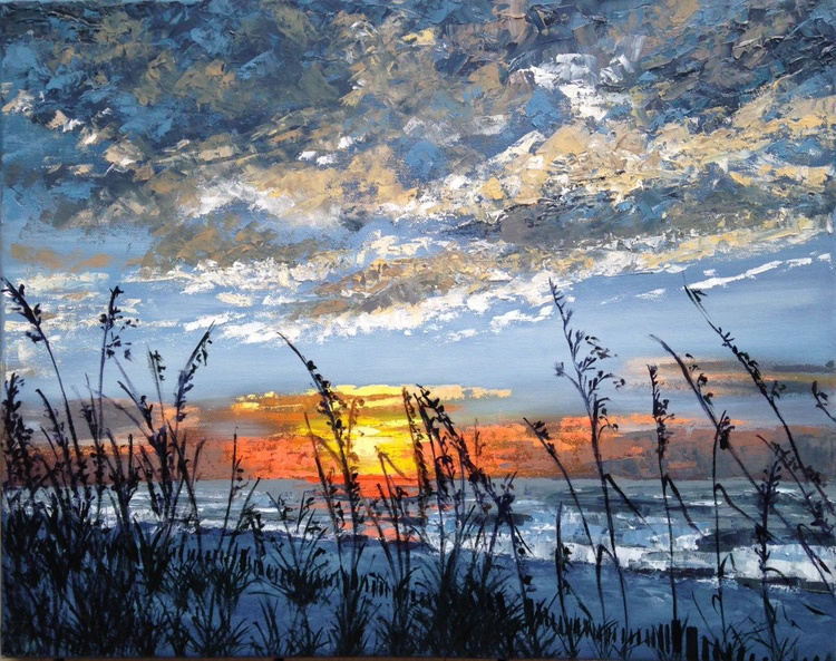 Sunset over the Sand Dunes - Image 0