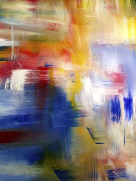 X-Large Abstract 401 -