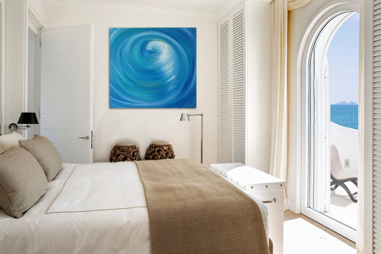 "The Swirl 28x26"" - Image 0"