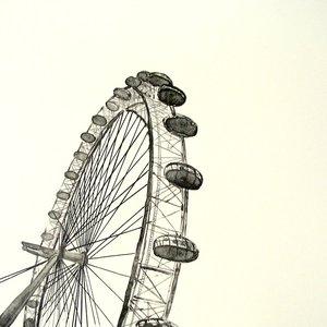London Eye by Lee Turner
