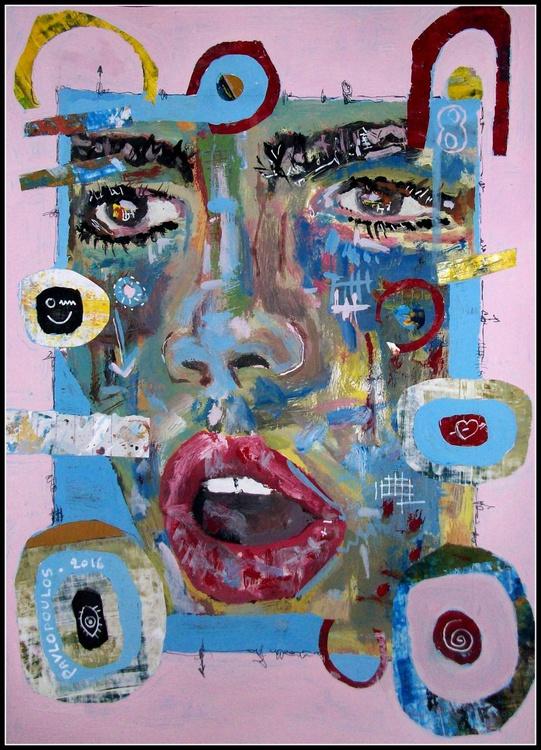 Woman Face No 8 - Image 0