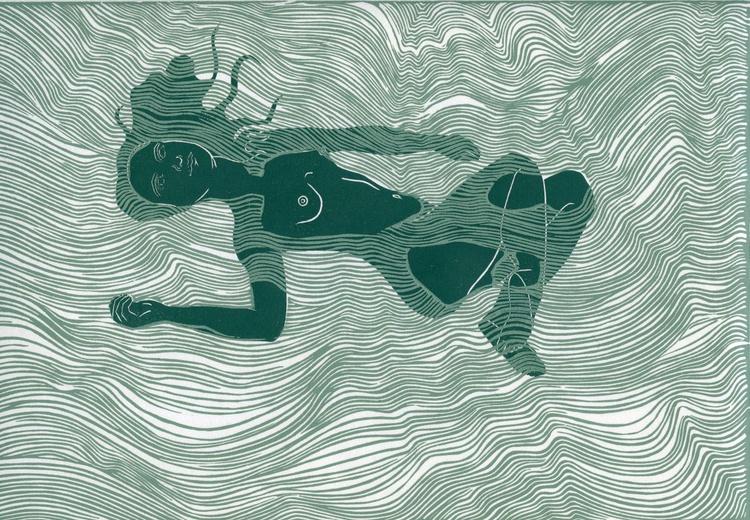 Floating Nude - Image 0