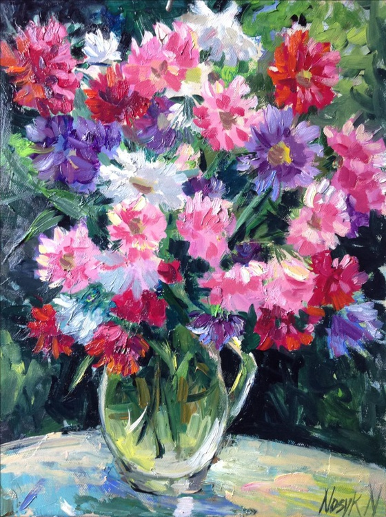 Asters. Autumn flowers - Image 0