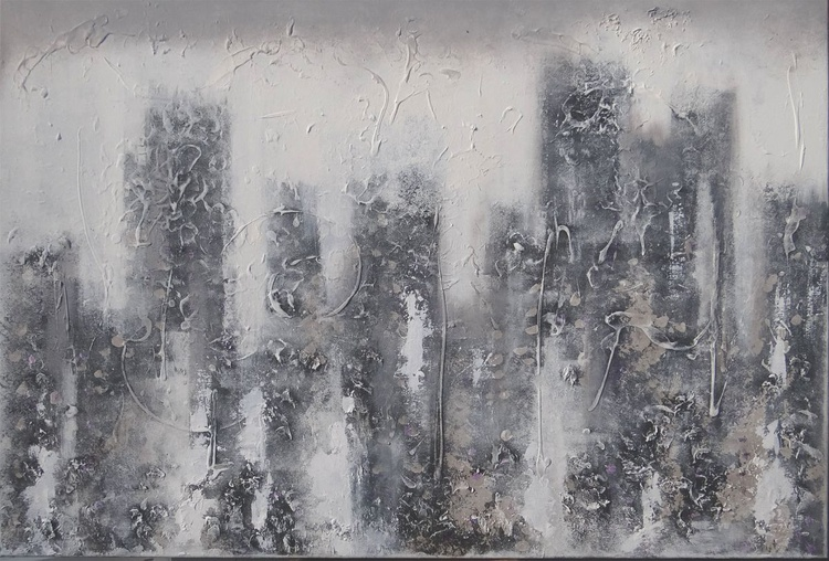 Sky scratches Grey (custom order Christina) - Image 0
