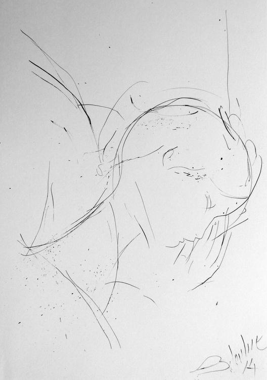 Sleeper #1, 29x42 cm - Image 0