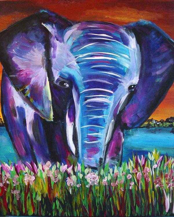 Elephant Blue - Image 0