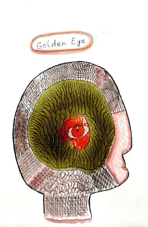 Golden eye -