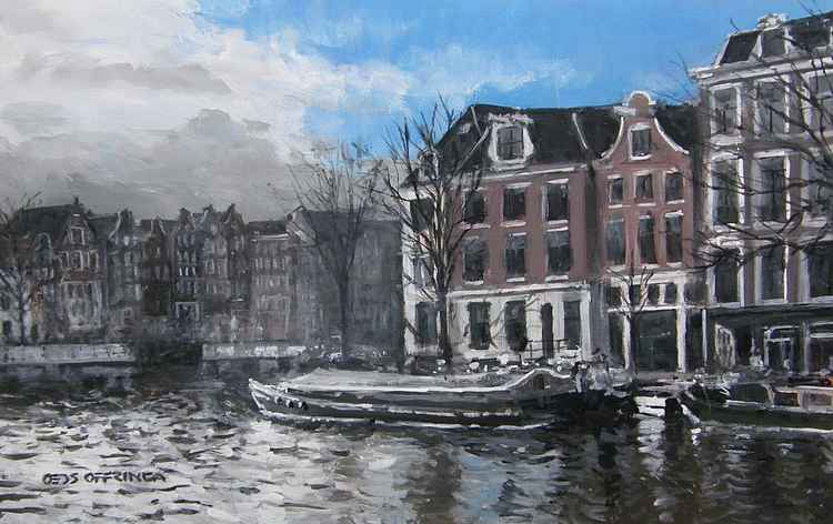 Near the Stopera, Amsterdam -