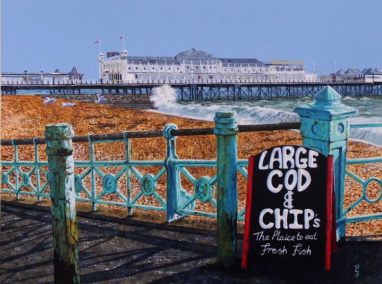 Large Cod and Chips - Image 0