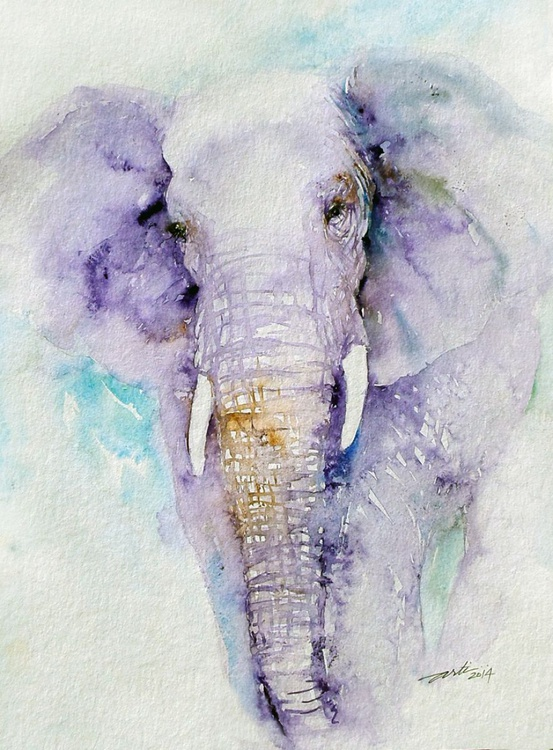 Dream Blues Elephant - Image 0