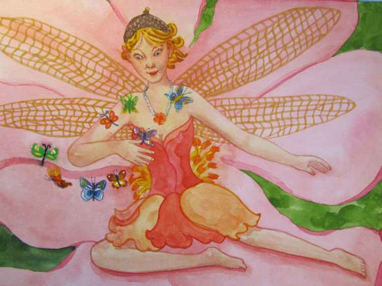 Colette - Dragonfly Faerie -