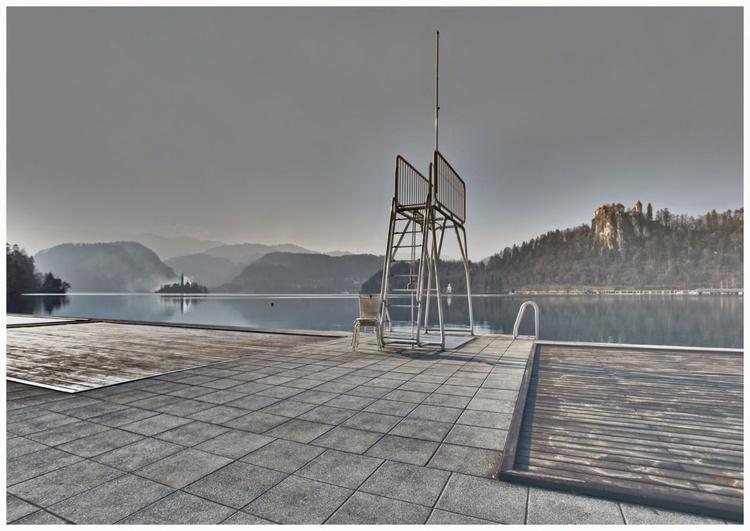 Sun Deck on lake Bled 003 - Image 0