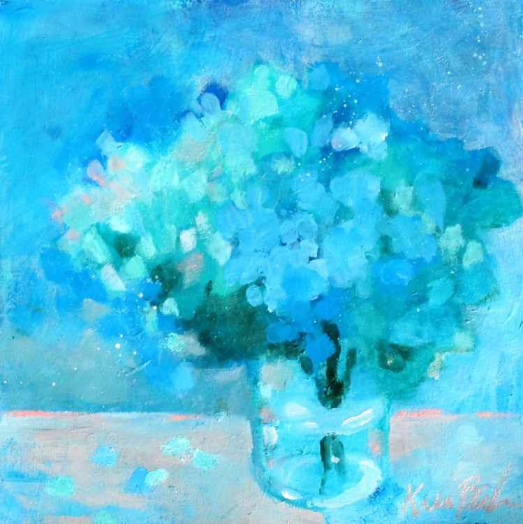 Vase of Hydrangeas -