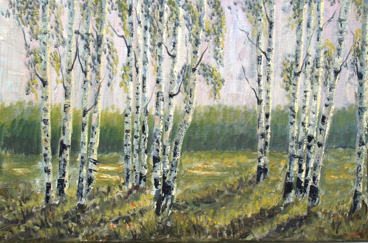 Spring birches - Image 0