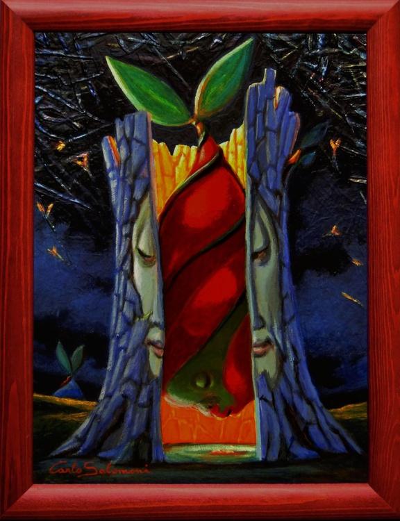 RED GRAFT - (framed). - Image 0