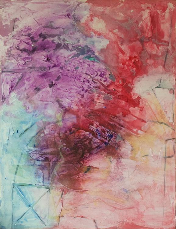 Soft Roses & Ochre - slow walking meditation - Image 0