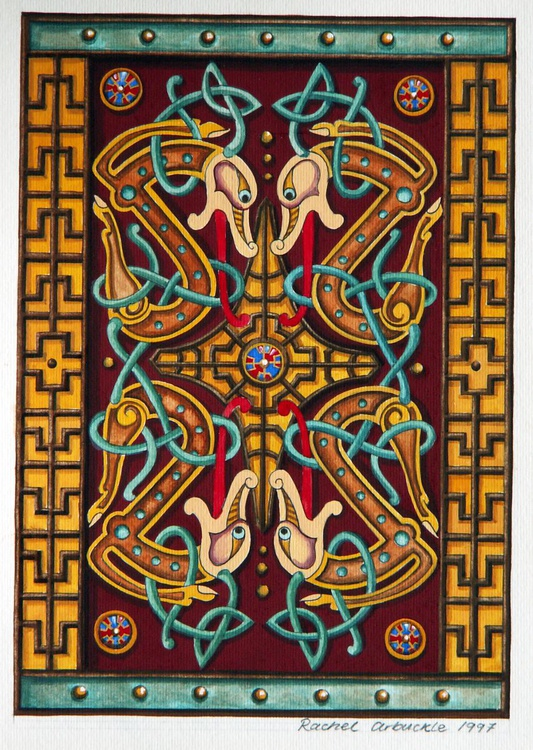 knotwork dogs - Image 0