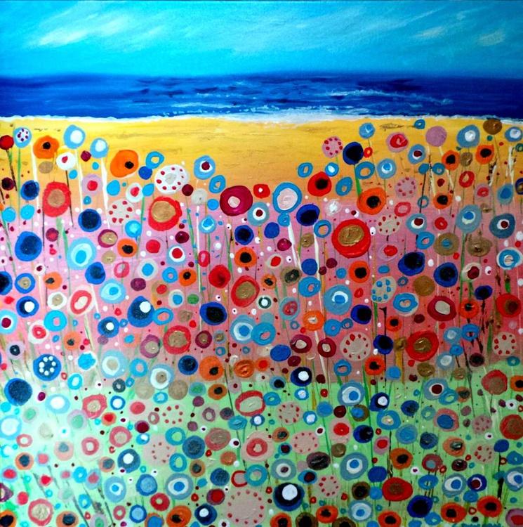 Happiness - Original Art 50 x 50 cm - Image 0