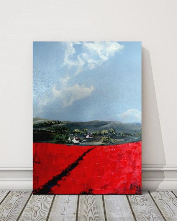 Scenic poppies - Image 0