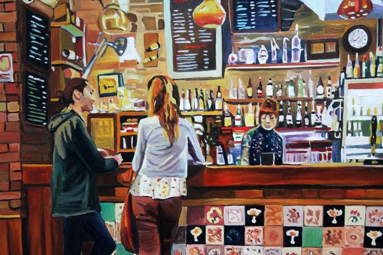 A Bar at Noah's Yard - Image 0
