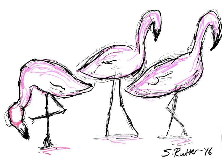 Pink Trio -