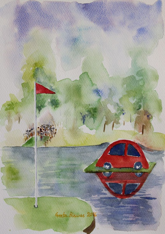 Hole in One Prize art - Image 0