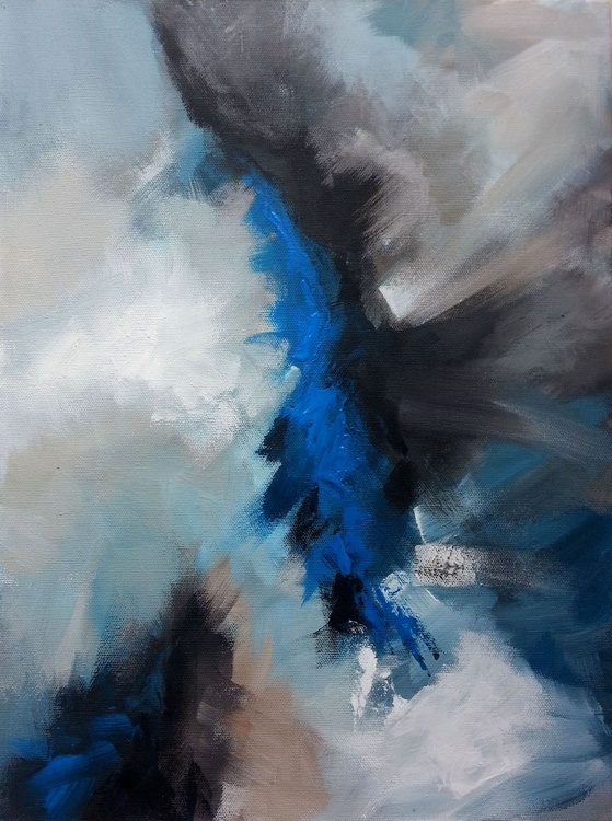 abstract 2 ( acrylic painting) - Image 0