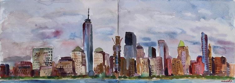 New York City Skyline from Jersey City - Image 0