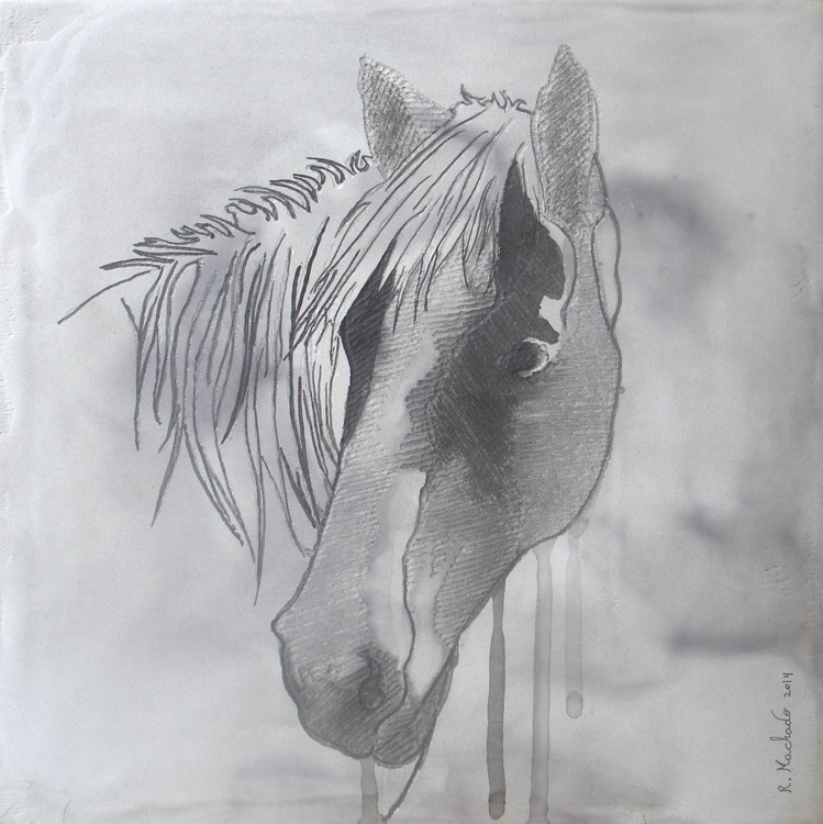 Horse Carved XV - Image 0