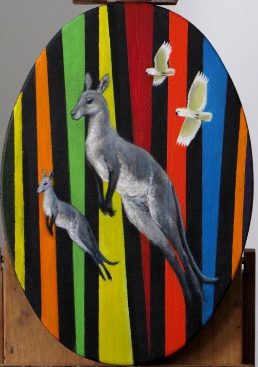 grey kangaroos - Image 0