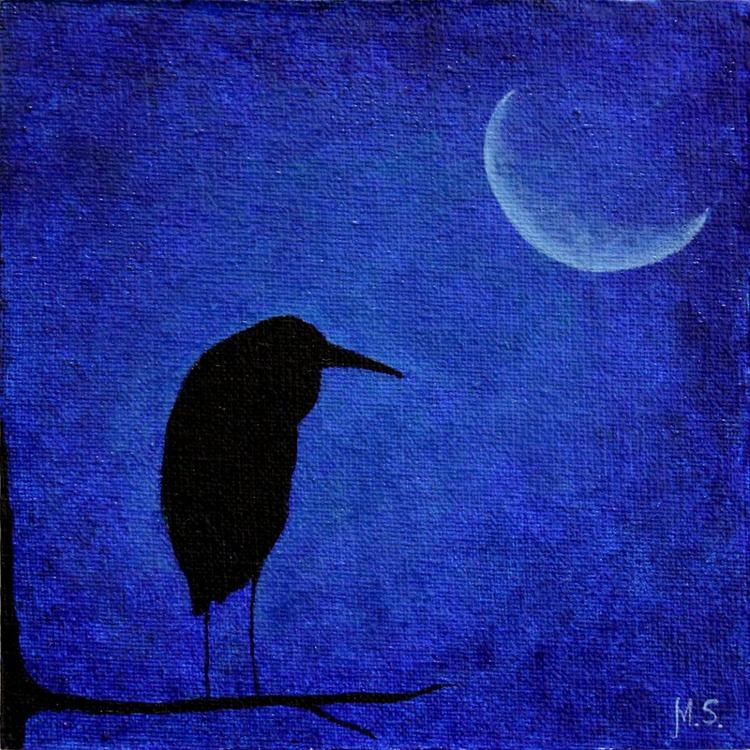 Heron at night - Image 0