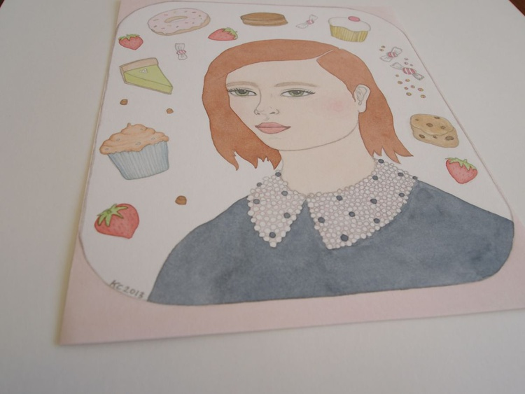 Portrait with Cakes - Image 0