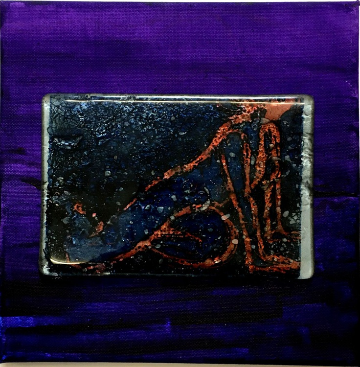 Bronze cast glass - 'Life figure' - Image 0