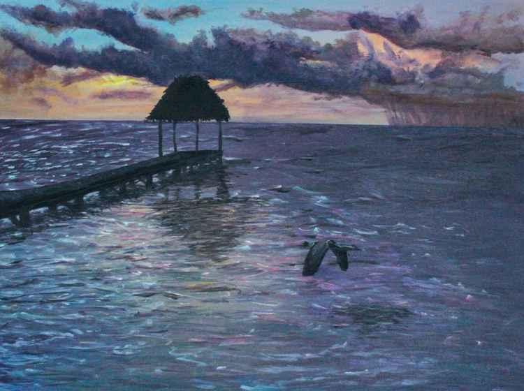 Sunrise Palapa dock -