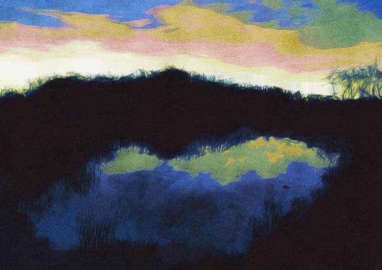 Hickory Mound Evening - Image 0