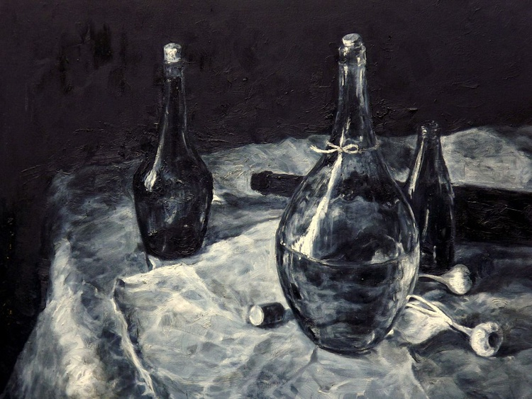 Still Life with Bottle - Image 0