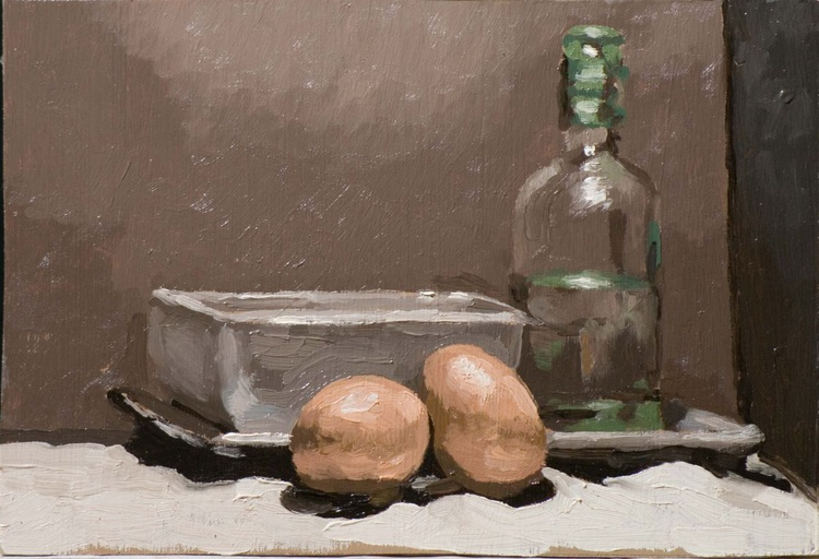 Eggs and Bottle - Image 0