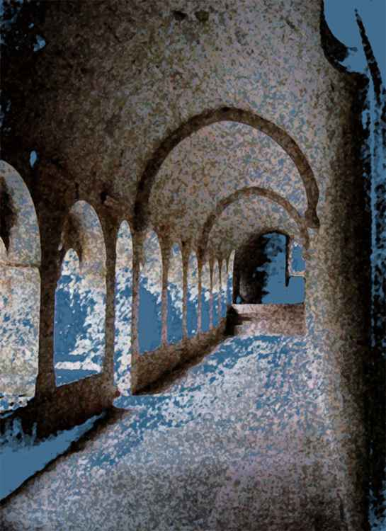 Blue Cloisters -
