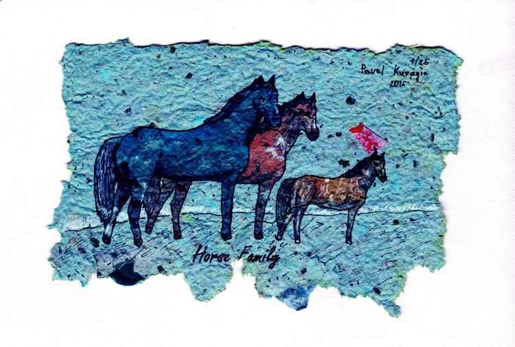 Horse Family. -