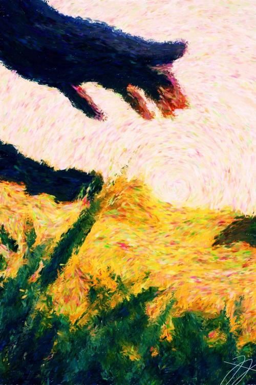 Sun Shining - Premium Poster Print - 30 x 40 cm - FREE SHIPPING - Image 0
