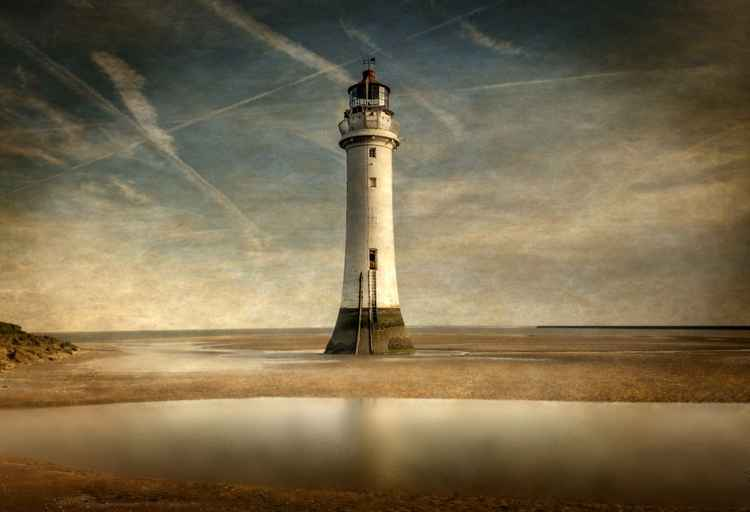 Perch Rock Lighthouse, Wirral, Liverpool