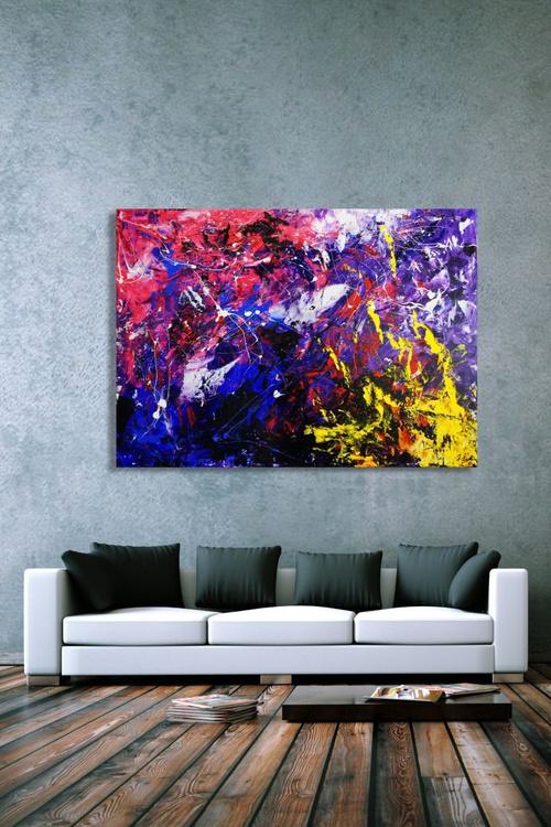 Battling Souls (140 x 100 cm) - Image 0