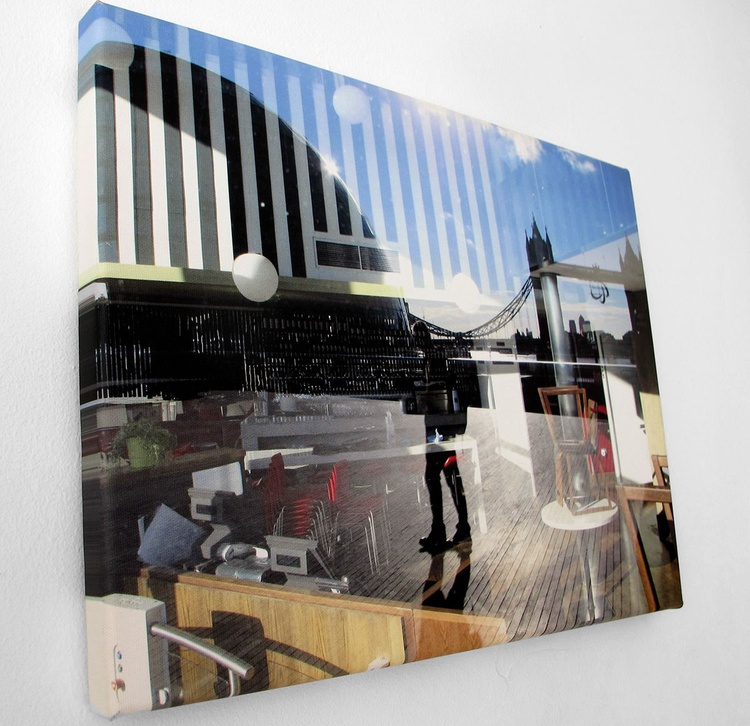 MORNING LONDON ‏ ON CANVAS (LIMITED EDITION 1/10) - Image 0