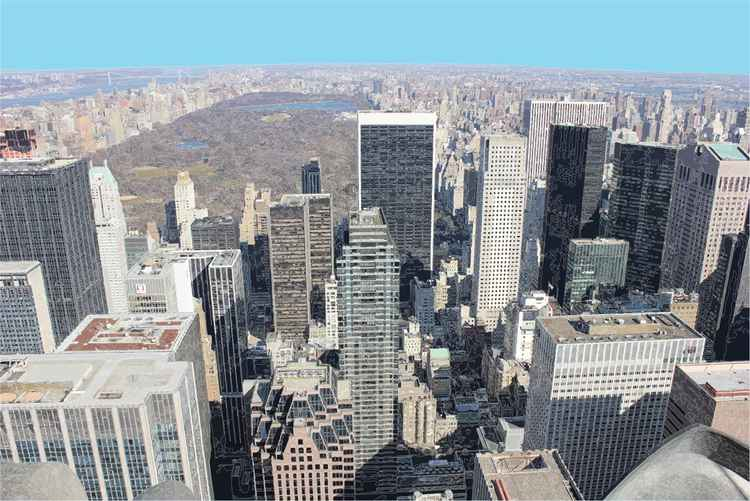 NEW YORK FROM ABOVE -