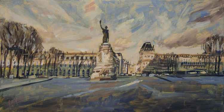 Place de la République Paris -