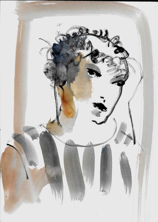 Classical Portrait 6, 21x29 cm - Image 0
