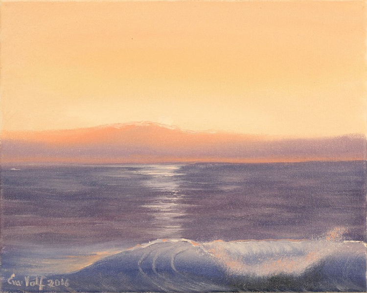 """Evening by the Sea 8x10"""" - Image 0"""