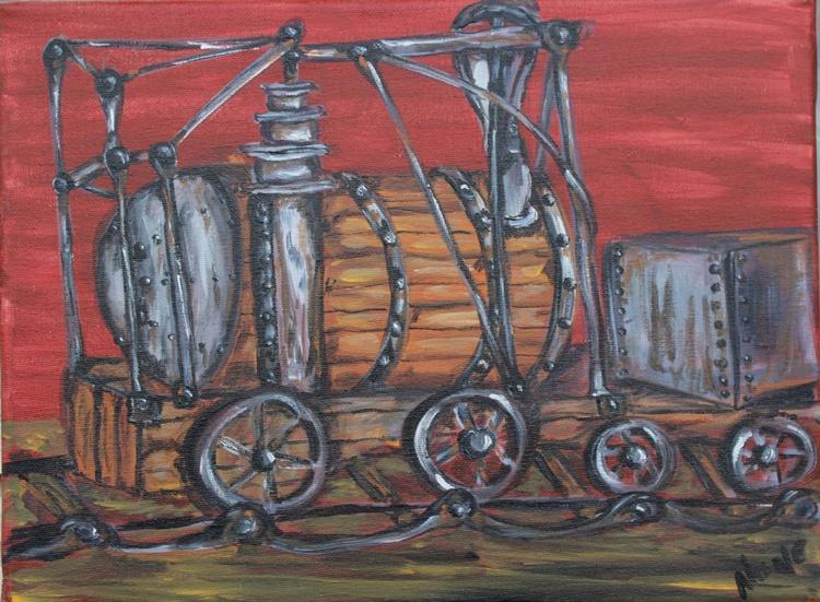 Steam punk train - Image 0